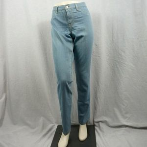High Waisted J Brand Blue Jeans
